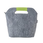 Felt Lunch Bag Foldable Picnic Bag Food Storage Bag Durable Handy Insulated Bags for Traveling and Business Trip