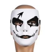 Festnight Plastic White Scary Clown Mask Halloween Masquerade Ball Mask Women Men