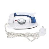 Handheld Foldable Dry Steam Iron Adjustable Temperature Steamer Portable Ironing Machine for Travel Household Use AC220V-240V EU Plug