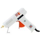100-240V 150W Professional Hot Melt Glue Gun with 20pcs Glue Sticks 140-220°C Adjustable Temperature Repair Tool