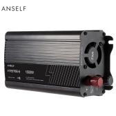 1500W DC12V to AC220-240V AC Household Solar Power Inverter Converter Modified Sine Wave Form