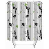 """Anself 180 * 180cm Morning-glory Fiore modello tenda della doccia formato 71 """"* 71"""" Water Resistant Beautiful Floral Bath Curtain con 12 C Ring Hook"""