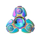 New Style Tri Rainbow Spinner Focus Anxiety Stress Reducer for Kids Adults Ultra Durable High Speed Killing Time