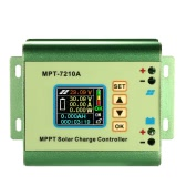 MPPT Solar Panel Battery Regulator Charge Controller with LCD Color Display 24/36/48/60/72V 10A Compatible DC-DC Boost Charge Function