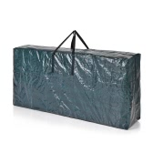 "Homgeek 65""L * 15""W * 30""H Extra-Large Storage Bag for 9-Foot Disassembled Artificial Christmas Tree Decorations Storing Use"
