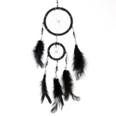"Lovely Handmade Dream Catcher Net Shell Bead Real Feather Wall/Home Hanging Decoration Car Ornament 3.15""Diameter 15.75""Long"