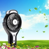 Handy Brushless Mini USB Rechargeable Misting Fan 3 Controllable Speed Home Office Cooling Desk Fan Humidifier