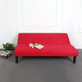 Contemporary Microfiber Futon Bed Sleeper Convertible Fabric 3 Seater Couch Back Adjustable Sofa