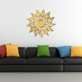 Acrylic Wall Mirror Stickers Mirror Decal Sunshine Fire Room Bedroom Kitchen Bathroom Stick Decal Home Party Decoration Decor Art Mural Stickers DIY Decals Art Decal Room Decoration