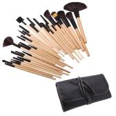 32Pcs Professional Make Up Brush Set Cosmetic Makeup Tool Kit Fundation Eyeshadow Brushes Lip Powder Eyebrow Brush With Bag