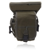 Drop Leg Bag Motorcycle Outdoor Bike Cycling Thigh Pack Waist Belt Tactical Bag Multi-purpose Army Green