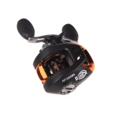 AF103 10+1BB Ball Bearings Left Hand Bait Casting Fishing Reel High Speed 6.3:1 Black