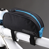 Roswheel Bicycle Cycling Frame Front Top Tube Bag Outdoor Mountain Bike Pouch 1L Black & Blue 12654