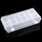 Fishing Tackle Box Fly Fishing Storage Case Double Layer Spinner Bait Minnow Popper