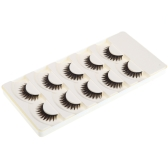 5 Pairs False Eyelashes Pure Hand-made Voluminous Thick Long Fake Lashes