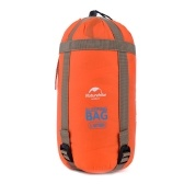 Envelope Outdoor Sleeping Bag Camping Travel Hiking Multifuntion Ultra-light Orange
