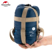 Naturehike LW180 Outdoor Envelope Sleeping Bag Camping Travel Hiking Multifuntion Ultra-light Dark Blue