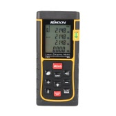 KKmoon RZE-80 80m/262ft Digital Laser Distance Meter Range Finder Measure Distance Area Volume with Bubble Level