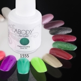 Abody 15ml Soak Off Nail Gel Polish Nail Art Professional Lacquer Manicure UV Lamp & LED 177 Colors 1555