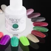 Abody 15ml Soak Off Nail Gel Polish Nail Art Professional Lacquer Manicure UV Lamp & LED 177 Colors 1555