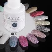 Abody 15ml Soak Off Nail Gel Polish Nail Art Professional Shellac Lacquer Manicure UV Lamp & LED 177 Colors 1866