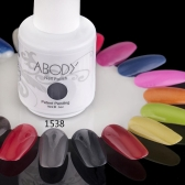 Abody 15ml Soak Off Nail Gel Polish Nail Art Professional Shellac Lacquer Manicure UV Lamp & LED 177 Colors 1538