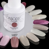 Abody 15ml Soak Off Nail Gel Polish Nail Art Professional Shellac Lacquer Manicure UV Lamp & LED 177 Colors 1407