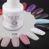 Abody 15ml Soak Off Nail Gel Polish Nail Art Professional Shellac Lacquer Manicure UV Lamp & LED 177 Colors 1326