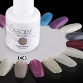 Abody 15ml Soak Off Nail Gel Polish Nail Art Professional Shellac Lacquer Manicure UV Lamp & LED 177 Colors 1403