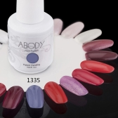 Abody 15ml Soak Off Nail Gel Polish Nail Art Professional Shellac Lacquer Manicure UV Lamp & LED 177 Colors 1335