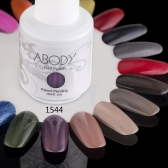 Abody 15ml Soak Off Nail Gel Polish Nail Art Professional Shellac Lacquer Manicure UV Lamp & LED 177 Colors 1544