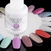 Abody 15ml Soak Off Nail Gel Polish Nail Art Professional Shellac Lacquer Manicure UV Lamp & LED 177 Colors 1593