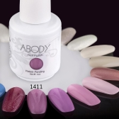 Abody 15ml Soak Off Nail Gel Polish Nail Art Professional Shellac Lacquer Manicure UV Lamp & LED 177 Colors 1411