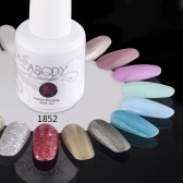 Abody 15ml Soak Off Nail Gel Polish Nail Art Professional Shellac Lacquer Manicure UV Lamp & LED 177 Colors 1852