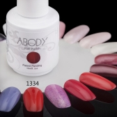 Abody 15ml Soak Off Nail Gel Polish Nail Art Professional Shellac Lacquer Manicure UV Lamp & LED 177 Colors 1334