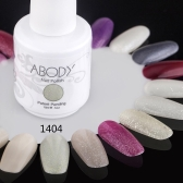 Abody 15ml Soak Off Nail Gel Polish Nail Art Professional Shellac Lacquer Manicure UV Lamp & LED 177 Colors 1404