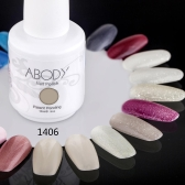Abody 15ml Soak Off Nail Gel Polish Nail Art Professional Shellac Lacquer Manicure UV Lamp & LED 177 Colors 1406