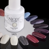 Abody 15ml Soak Off Nail Gel Polish Nail Art Professional Shellac Lacquer Manicure UV Lamp & LED 177 Colors 1421