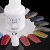 Abody 15ml Soak Off Nail Gel Polish Nail Art Professional Shellac Lacquer Manicure UV Lamp & LED 177 Colors 1433