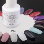 Abody 15ml Soak Off Nail Gel Polish Nail Art Professional Shellac Lacquer Manicure UV Lamp & LED 177 Colors 1324