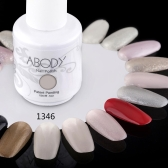 Abody 15ml Soak Off Nail Gel Polish Nail Art Professional Shellac Lacquer Manicure UV Lamp & LED 177 Colors 1346