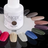 Abody 15ml Soak Off Nail Gel Polish Nail Art Professional Lacquer Manicure UV Lamp & LED 177 Colors 1548