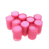 10Pcs Sleep In Cling Roller Sponge Foam Hair Tools Design Color Randomly