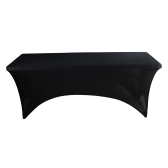 High Quality Elastic Soft Polyester Spandex Rectangular Stretch Tablecloth for 183*76*76cm Table