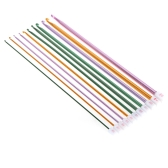 11pcs Knitted Suit Weaving Tool Knitting Needle Multicolor Alumina Needle 2.0-8.0mm