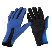 Outdoor Windproof Winter Thermal Warm Touch Screen Silicone Gloves
