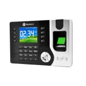 "Anself 2.4"" TFT LCD Display Biometric Fingerprint Attendance Machine ID Card Reader TCP/IP Function USB DC12V/1A Time Clock Recorder Employee Checking-in A-C071"