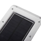 Solar Panel Power Wall Light 20 LEDs Outdoor Garden Lamp Sound + IR Infrared Sensor Control