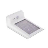 Solar Panel Power Wall Light 20 LEDs Outdoor Garden Lamp IR Infrared Sensor Control