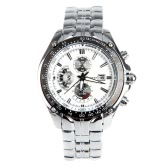 CURREN 8083 Fashion Business Men Wristwatch Water-resistant Stainless Steel Analog Quartz Calendar Date Watch